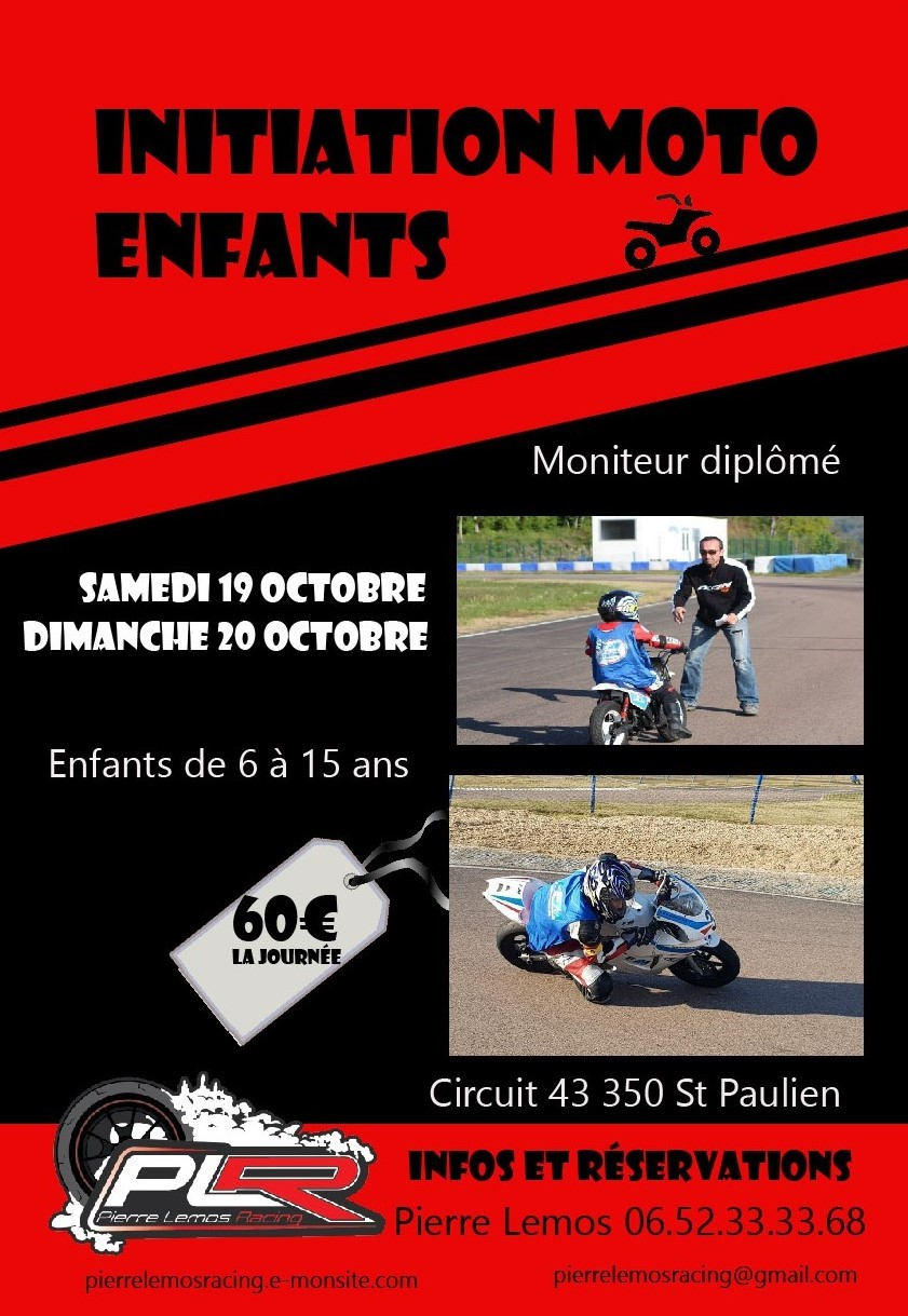 Affiche initiation enfants
